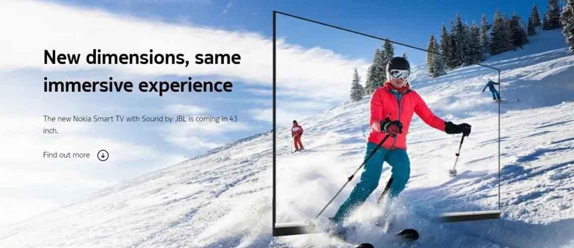تلویزیون نوکیا ۴۳ اینچی
