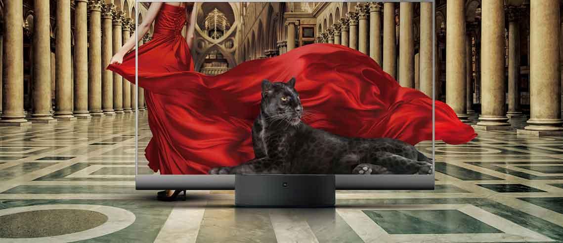 شکل - تلویزیون شفاف Mi TV LUX