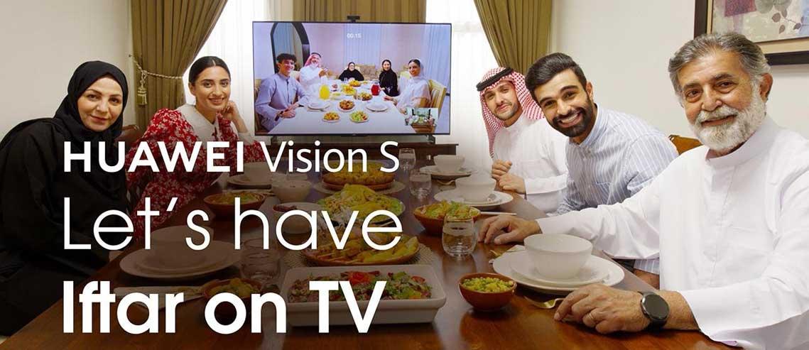 شکل-تلویزیون هواوی Vision S