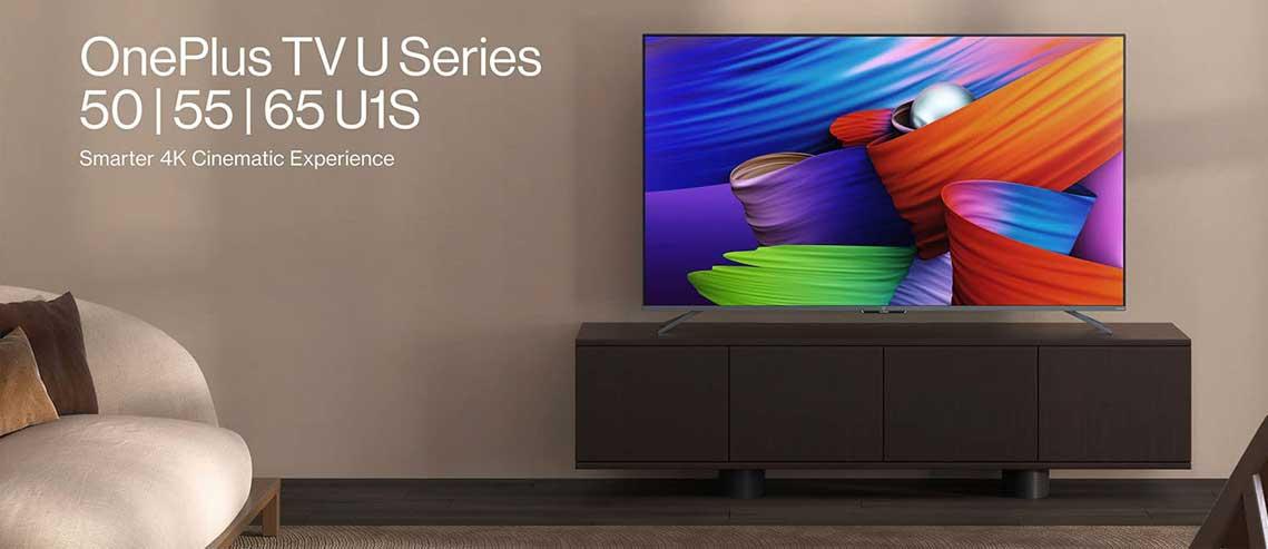 شکل – تلویزیون وان پلاس U1S